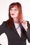 Attractive boss Stock Photo