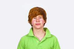 Attractive boy in puberty Stock Photo