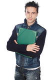 Attractive boy student Royalty Free Stock Photo