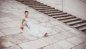 Attractive bride Royalty Free Stock Photography