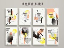 Attractive brochure template Royalty Free Stock Image