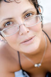 Attractive brunet woman Stock Photography