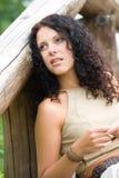 Attractive brunet woman Stock Photo