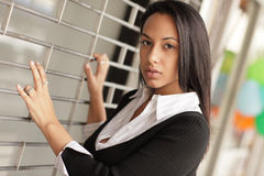Attractive brunette Royalty Free Stock Photography