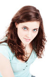 Attractive brunette girl Royalty Free Stock Images