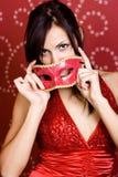 Attractive Brunette Model Stock Images