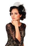 Attractive brunette portrait Stock Photography