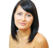 Attractive brunette woman Stock Photography