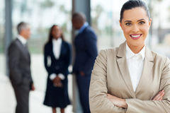 Attractive business executive Stock Photos