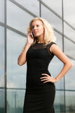 Attractive business lady Stock Photography