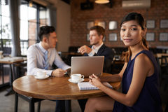 Attractive business lady Royalty Free Stock Image