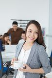 Attractive business lady Stock Photos