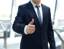 Attractive business man Stock Photography
