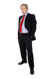 Attractive business man standing Royalty Free Stock Images