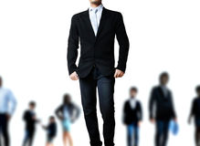 Attractive business people and leaders Stock Photography