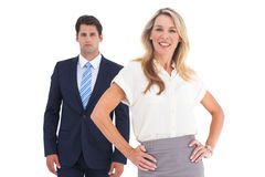 Attractive business people Stock Photos