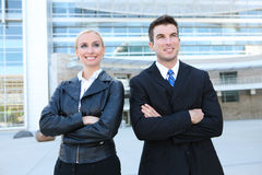 Attractive Business Team Royalty Free Stock Photography