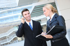 Attractive Business Team Stock Image