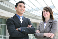 Attractive Business Team Royalty Free Stock Photos