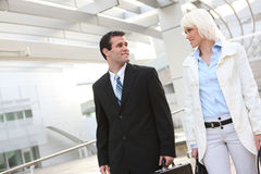 Attractive Business Team at Office Stock Photography