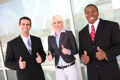 Attractive Business Team at Office Royalty Free Stock Photos