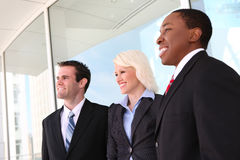 Attractive Business Team at Office Stock Photo