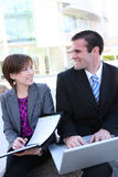 Attractive Business Team at Office Stock Images