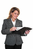 Attractive Business Woman Royalty Free Stock Images