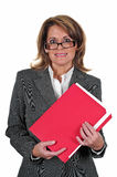Attractive Business Woman. Attractive Middle Age Business Woman Stock Photos
