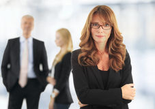 Attractive business woman Royalty Free Stock Photography