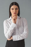 Attractive business woman Royalty Free Stock Image