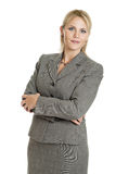 Attractive business woman portrait Stock Photos