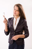Attractive business woman Stock Image