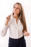 Attractive business woman Stock Photography