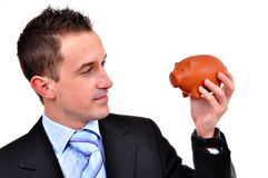 Attractive businessman Royalty Free Stock Photo