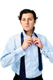 Attractive businessman Stock Photos