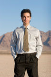 Attractive businessman Stock Photography