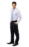 Attractive Businessman With Hands In Pockets Royalty Free Stock Images