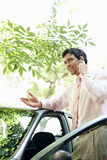 Businessman on phone call. Stock Image