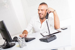Attractive businessman Royalty Free Stock Image