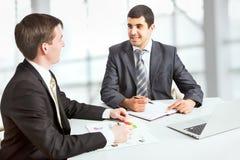 Attractive businessmen Stock Image