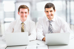 Attractive businessmen Royalty Free Stock Photography