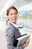 Attractive businesswoman Stock Photography