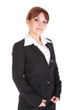Attractive businesswoman Stock Images