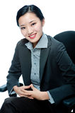 An attractive businesswoman Royalty Free Stock Image