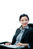 An attractive businesswoman Royalty Free Stock Photos