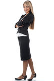 Attractive businesswoman with crossed arms Royalty Free Stock Photo