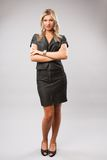 Attractive businesswoman, full body shot Stock Photography