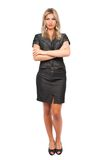 Attractive businesswoman, full body shot Royalty Free Stock Image