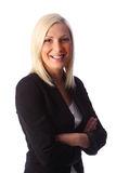 Attractive businesswoman in jacket Stock Photography